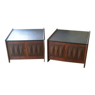 Vintage Lane Side Tables - A Pair