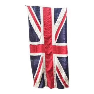 WWI Era Stitched Union Jack Flag