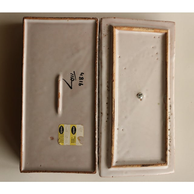 Image of Raymor Italian Art Pottery Box