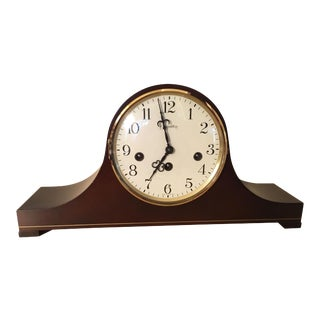 Hamilton Wood Tambour Camel Back Clock