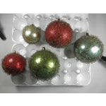 Image of Wire-Wrapped Ornaments - Set of 5