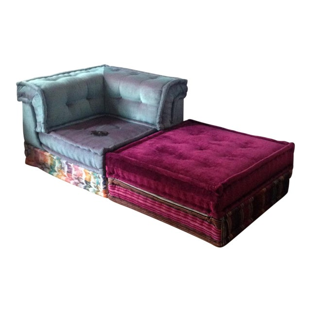 roche bobois mah jong missoni sofa chairish. Black Bedroom Furniture Sets. Home Design Ideas