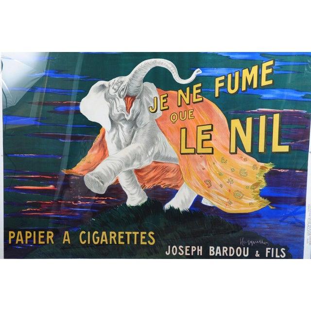 Je Ne Fume Que Le Nil-Original 20s Elephant Poster - Image 4 of 9