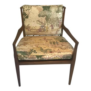 Baker Furniture Asian Lounge Chair