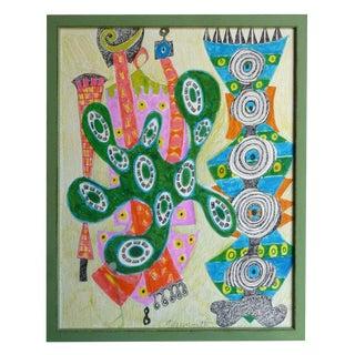 Geraldine Neuwirth Abstract Painting