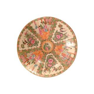 1800s Chinese Porcelain Famille Rose Platter