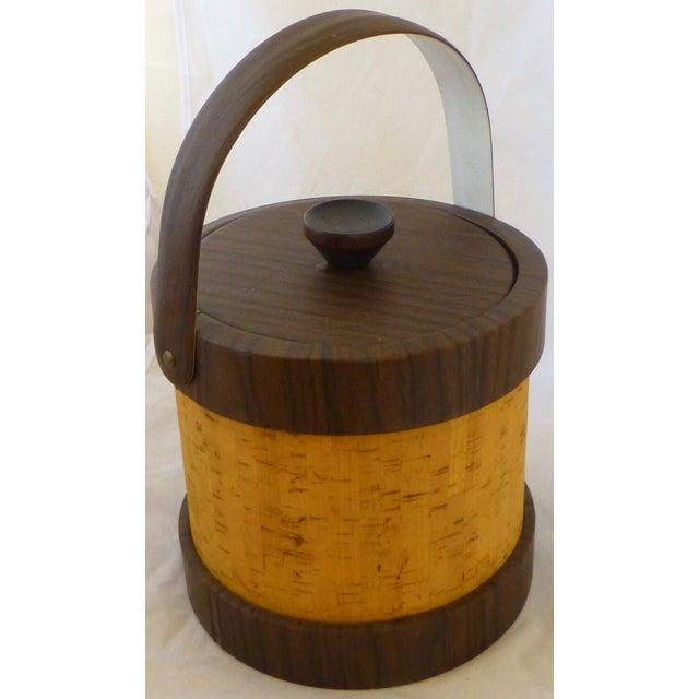 Vintage Cork Ice Bucket - Image 8 of 9