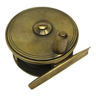 Antique Brass Scottish Fishing Reel
