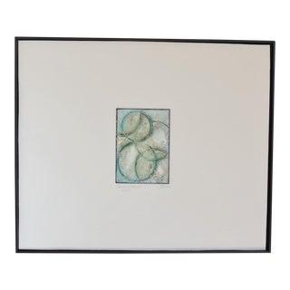 Modern Emerald Infinity Painting