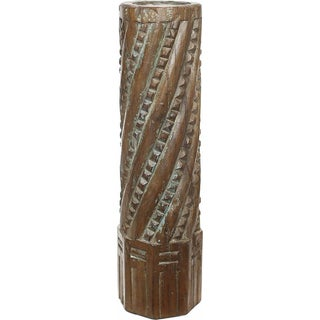 Vintage Olympia Architectural Pillar Candle Holder
