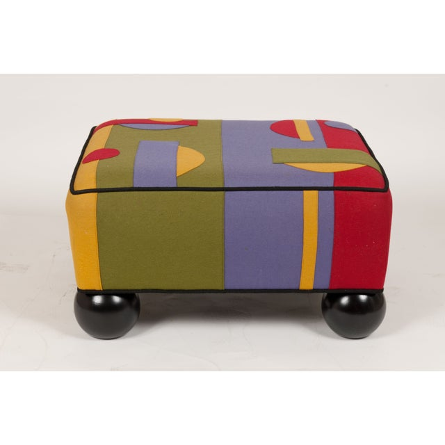 Colorful Limited Edition Ottoman - Image 2 of 5