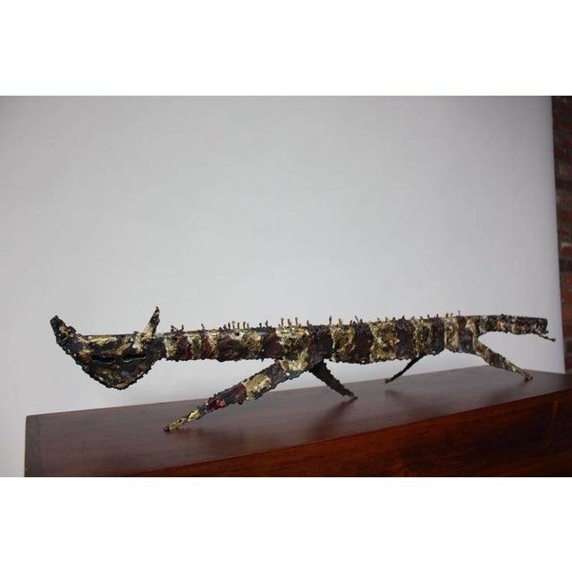 James Bearden Cat Sculpture - Image 2 of 10