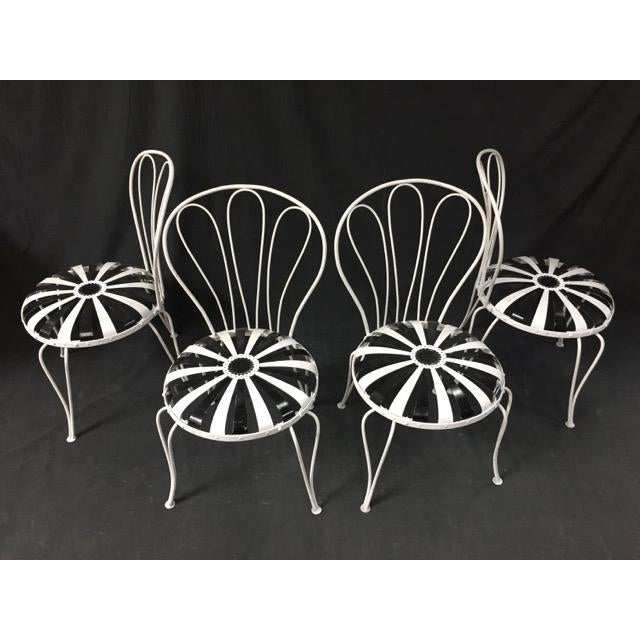 Francois Carre Art Deco Patio Chairs - Image 5 of 5