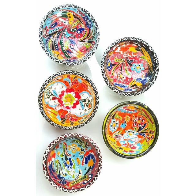 Turkish Tile Bowls - Set of 5 - Image 3 of 4