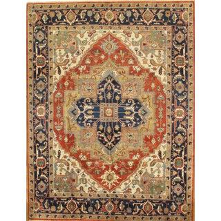 """Pasargad Serapi Wool Area Rug - 9' 1"""" X 12' 0"""""""