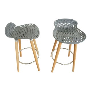 Scandinavian Counter Stools- Set of 4