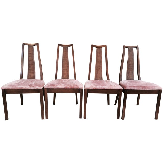 Paine Mid Century Modern Dining Chairs - Set of 4 - Image 1 of 8