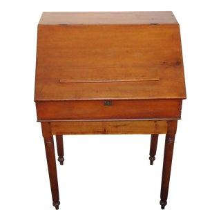 Early 19th Century Pennsylvania School Masters Desk
