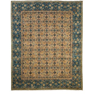 """Ziegler, Hand Knotted Area Rug - 8' 0"""" X 9' 10"""""""