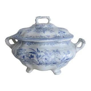 Antique Asiatic Pheasant Soup Tureen