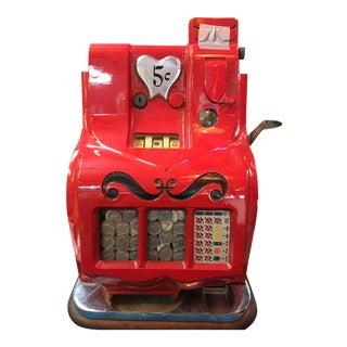 Mills QT Sweetheart Slot Machine