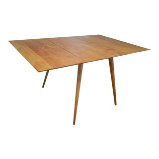 1950s Paul McCobb Planner Group Maple Drop Leaf Dining Table