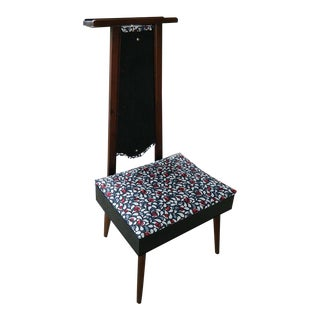 Vintage Clothes Butler Valet Chair
