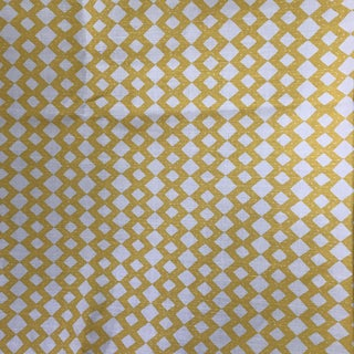 "Quadrille Alan Campbell ""Handstich"" Fabric - 1.5 Yards"