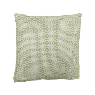 "Seema Krish Green ""Altamount Road"" Pillow"