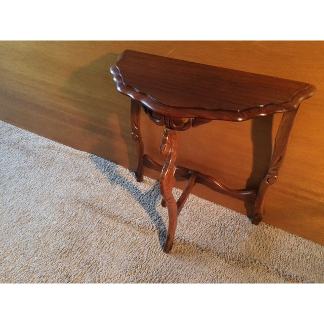 Victorian Carved Leg End Table - Image 4 of 5