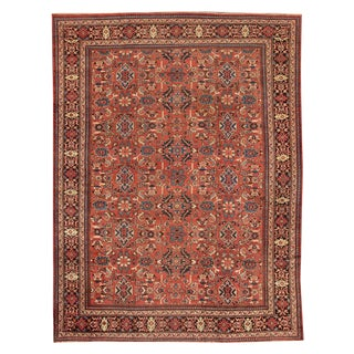 "Apadana - Antique Mahal Rug, 10'7"" x 14'2"""
