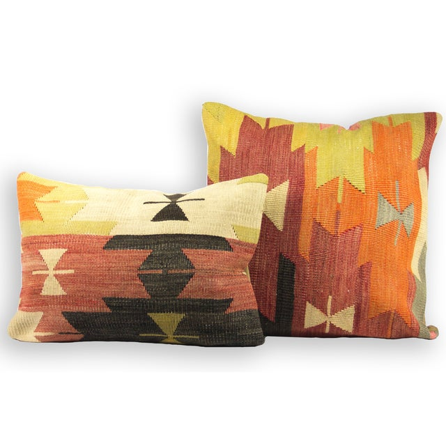 Square Kilim Pillow - Single - Image 2 of 3