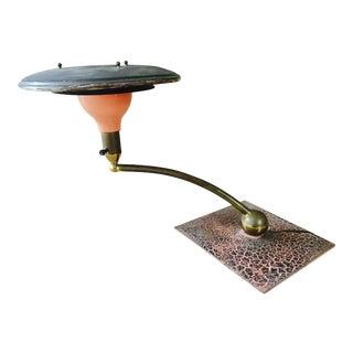 Atomic Saucer Desk Lamp By Wheeler