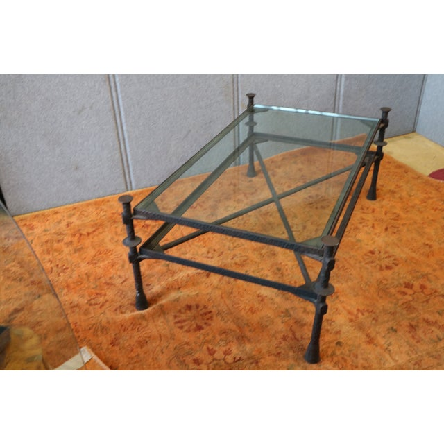 Image of Diego Giacometti Style Coffee Table