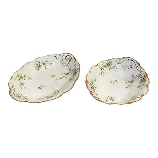 T. Haviland Limoges Bowls - Set of 2