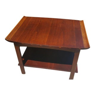 Lane Mid-Century Danish Walnut End Table