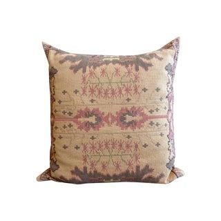 Flat Weave Tapestry Floor Pillow
