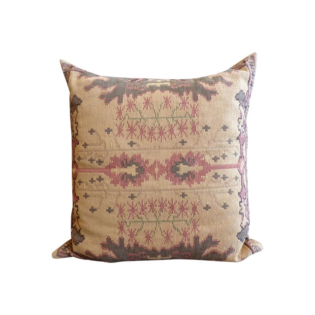 Flat Weave Tapestry Floor Pillow Chairish