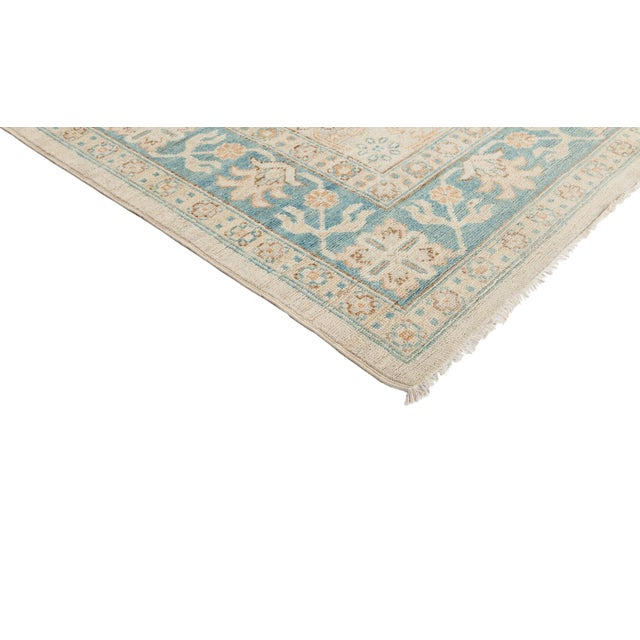 """New Khotan Hand Knotted Area Rug - 10'3"""" x 13'10"""" - Image 2 of 3"""