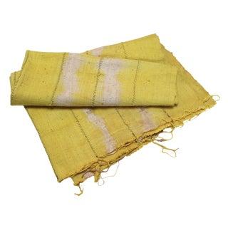 Vintage Yellow Textile