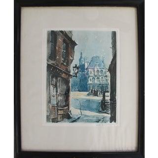Hotel De Ville Original Watercolor
