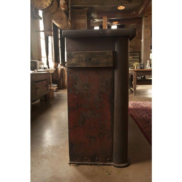 vintage metal bar from paris chairish. Black Bedroom Furniture Sets. Home Design Ideas