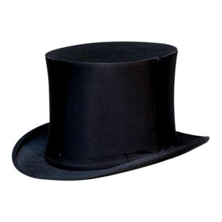 Antique British Gentlemen's Top Hat
