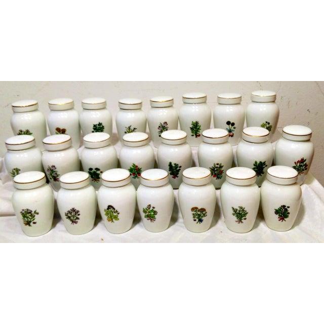 Franklin Mint Spice Jars - Set of 23 - Image 3 of 11
