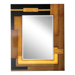 Howard Elliott Art Deco Oregon Wall Mirror