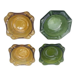 Vintage Ashtrays - Set of 4