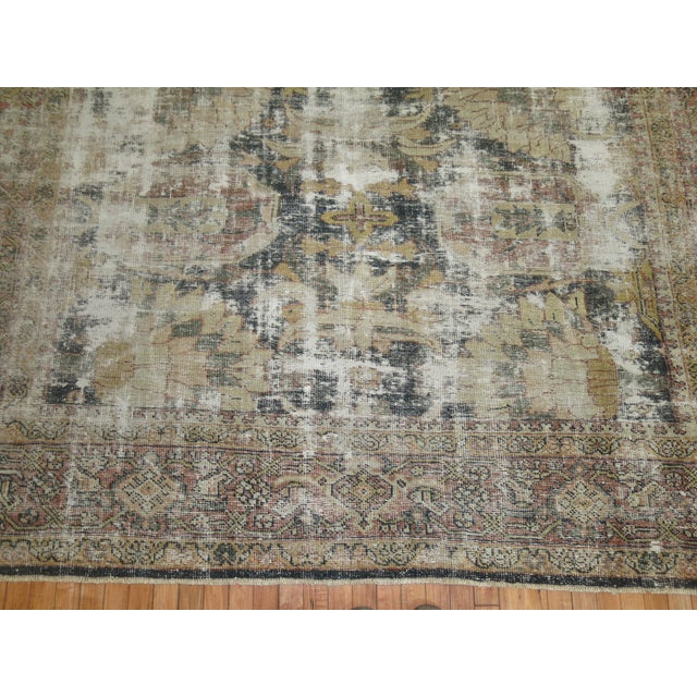 Distressed Persian Sultanabad Rug - 8'7'' x 11'9'' - Image 2 of 10