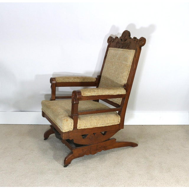 1880s Victorian Rocking Chair - Image 4 of 8