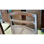"Image of United High Back ""Cat's Eye"" Dining Chairs - Six"
