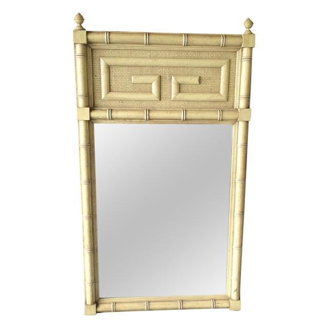 Dixie Shangri La Greek Key Mirror - Image 1 of 7